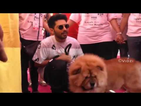 Armaan Malik & Handsome at the Glam Dogs 2017 Event
