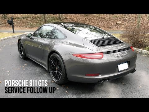 Porsche 911 GTS   Damage by Dealer Service, Wheels, Tires and More