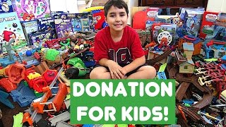 Toy donation for children by Will-Haik! (#3)