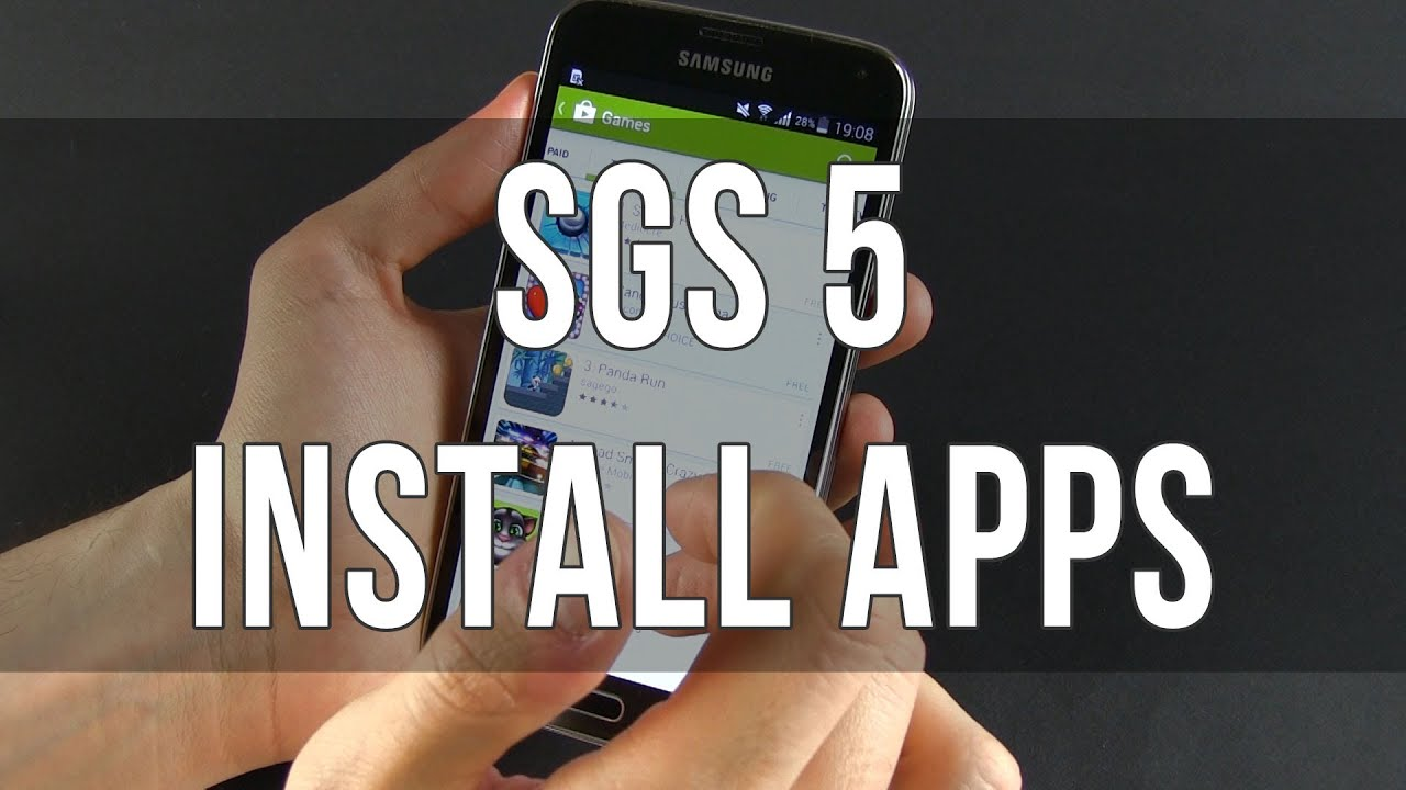 Descargar Samsung Galaxy S5 – How to Install and Uninstall apps para Celular  #Android