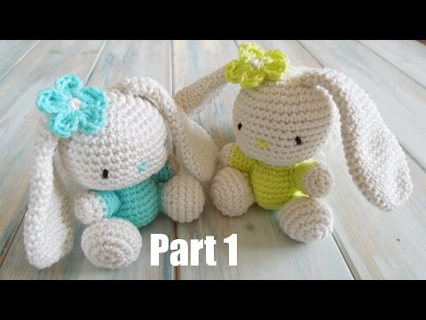 Crochet Amigurumi Bunny Tutorial : Amigurumi Bunny Tutorial Crochet Tucson