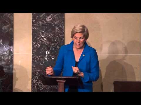 Calls - Senator Elizabeth Warren called for a vote on the Bank on Students Emergency Loan Refinancing Act in a Senate floor speech on September 16, 2014.