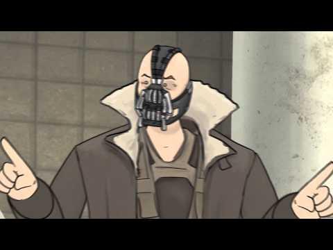 黑暗騎士黎明昇起-班恩BONUS,鄉民們吐槽的好!