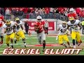 Ezekiel Elliott vs Michigan (2014)