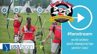Yankton (SD) United States  city images : #FanStream: USA v Japan – Recurve Cadet Women's Team 1R | Yankton 2015