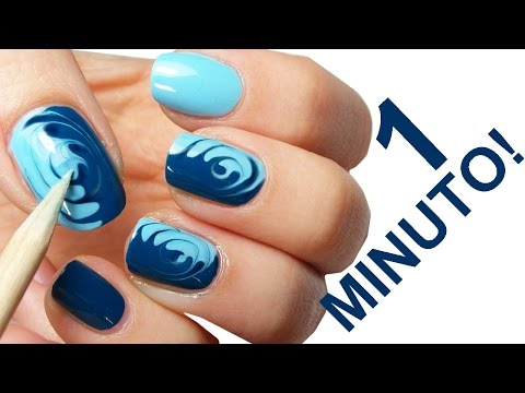 nail art in 1 minuto!