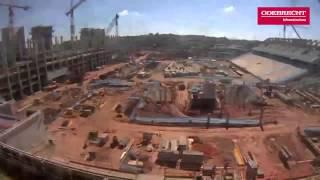 Time-lapse Arena Corinthians - Janeiro 2013