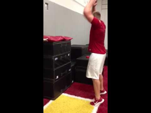 JJ Watt box jump video. 59.5 inches