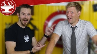 Colin Furze Visits the Hacksmith!