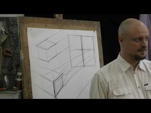 Кузьмин Р.А. Изображение пространства (4 угла мастерской)