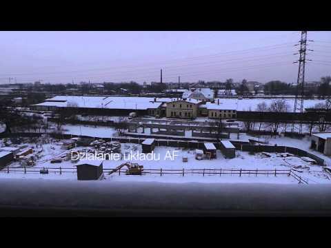 Samsung Galaxy Camera test wideo