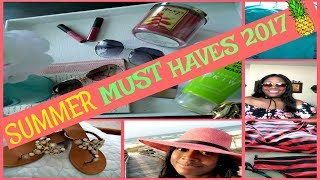 "Hey FeMarie Family!These are the dog days of summer and I am sharing my Summer Must Haves. This is a collaboration video with my new friend Lianna from ""It's A Deal"". Please go over to her channel immediately following this and tell her I sent you. Thanks for watching! I love you all!!!!!Liana's channel:""It's A Deal""https://www.youtube.com/channel/UC-Lx_4bK4m87jangouPvhlgThanks For Watching!---MissFeMariePLEASE SUBSCRIBEI would LOVE to have you a part of the FeMarie familyLET'S SOCIALIZE!INSTAGRAM: @miss_femarieSNAPCHAT: @missfemarie3All business inquiries: feliciacole71@gmail.com"