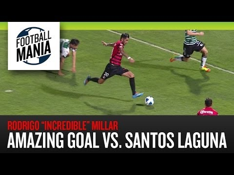 Rodrigo Millar's cleverly made goal