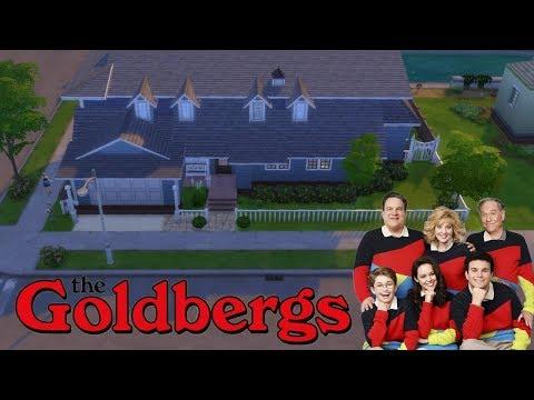THE GOLDBERGS SERIES | HOUSE TOUR | SIMS 4