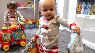Twins Matching Pajamas!
