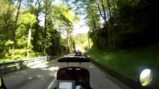 Le Hohwald France  City pictures : Motorcycling France Alsace D425 Hohwald Breitenbach Andlau