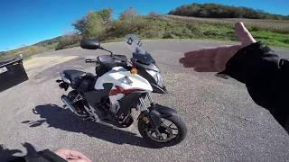 10. County J and a walk around my 2014 Honda CB500X