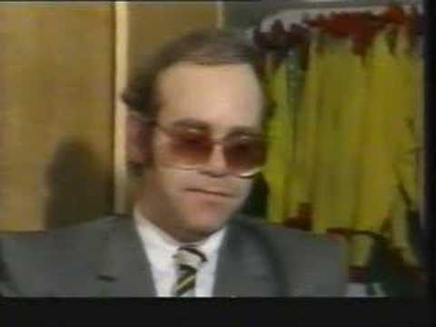 Elton John In The Watford Directors&#39; Box