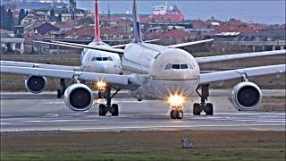 Video Plane Spotting at Istanbul Ataturk, IST - Busy Evening Departures | 06/11/18 MP3, 3GP, MP4, WEBM, AVI, FLV Desember 2018