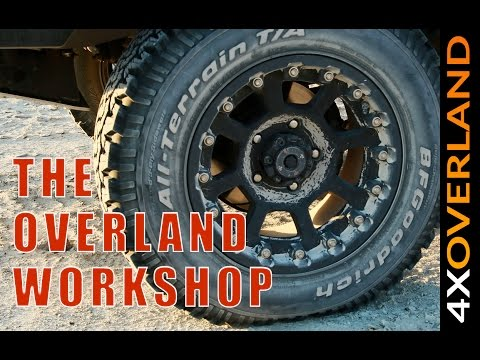 WHEELS AND TIRES. The Overland Workshop. Andrew St Pierre White