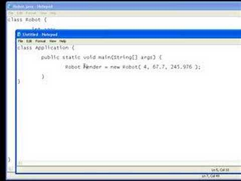 oop - This tutorial discusses the basic concepts of object oriented programming (OOP). This includes object behaviour and attributes aswell as constructors.