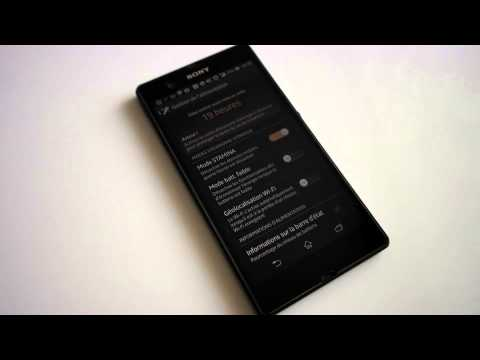 comment economiser batterie xperia sp