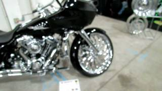 2. 2009 Harley Davidson Road Glide Custom Bike