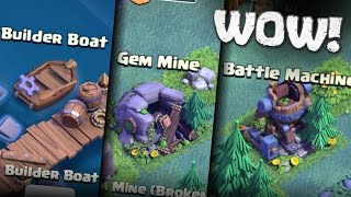 Video BUILDER BOAT? GEM MINE, NEW HERO AND SECRET UPGRADES! | Clash of Clans MP3, 3GP, MP4, WEBM, AVI, FLV Agustus 2017