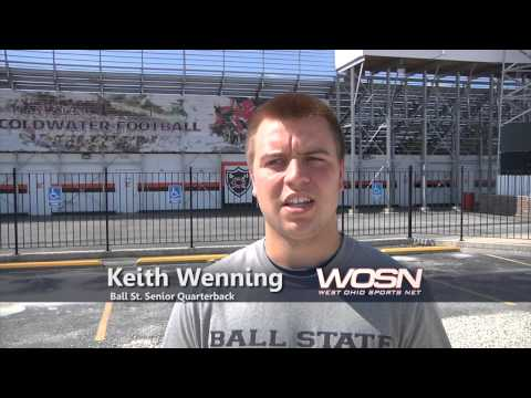 Keith Wenning Interview 7/25/2013 video.