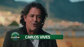 Conéctate al Festival – Entrevista Carlos Vives
