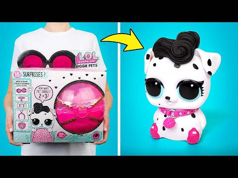 Membuka Kemasan Mainan L.O.L. Surprise Biggie Pets | 15 Kejutan di Dalamnya!