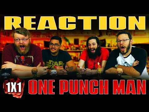 "One Punch Man 1x1 Reaction!! ""the Strongest Man"""