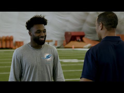 Video: Jarvis Landry: Dolphins view Jay Cutler as a leader