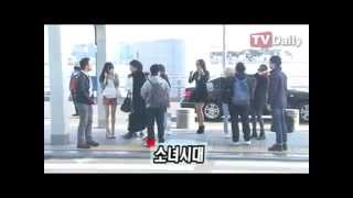 130329 SNSD - News @ Incheon Airport To Bangkok