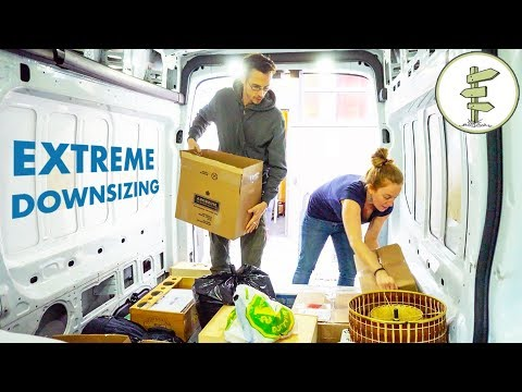Downsizing All Our Stuff in Just 7 Days!! – Extreme Minimalist Living