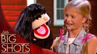 Video 12yr old ventriloquist takes control of little Dawn | Little Big Shots MP3, 3GP, MP4, WEBM, AVI, FLV Januari 2019