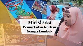 Video Miris! Ini Kata Saksi Pemurtadan Korban Gempa Lombok | MMC News MP3, 3GP, MP4, WEBM, AVI, FLV Oktober 2018