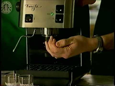 1998 Starbucks Barista home espresso machine demo tape - Part 1