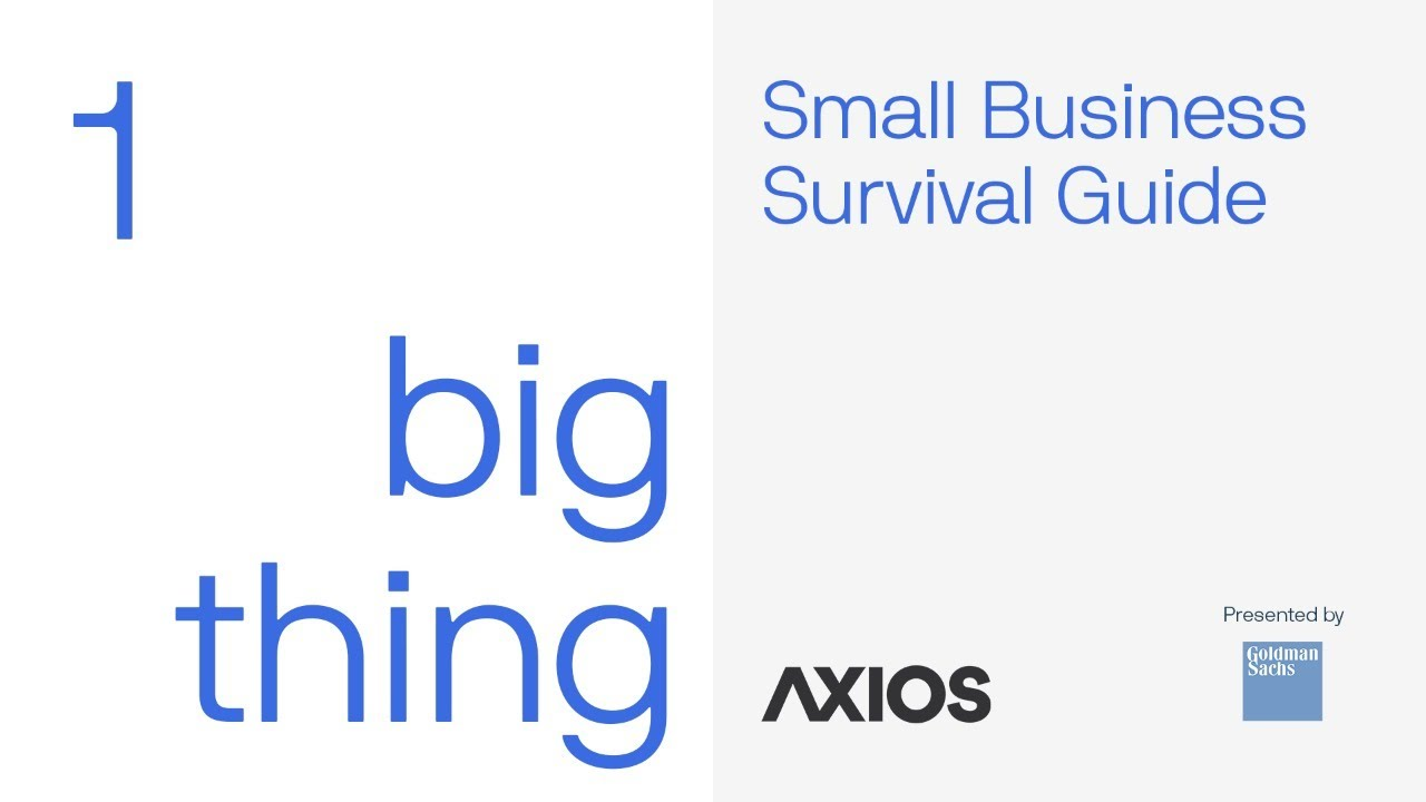 A conversation on the future of small businesses | Axios
