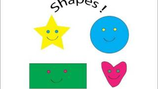 Shapes Circle Triangle Square, Learn English For Children