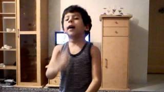 رقص زیبای کودک ایرانی