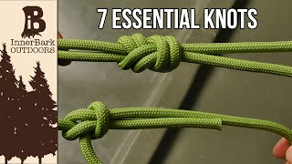 Video 7 Essential Knots You Need To Know MP3, 3GP, MP4, WEBM, AVI, FLV Agustus 2019