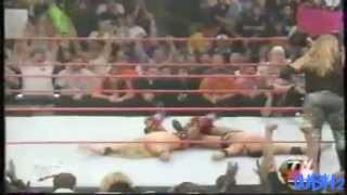 Edge and Christan vs The Undertaker and The Rock-WWF Tag Team Championship-Highlights HD