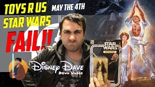 Video TOYS R US STAR WARS 40TH ANNIVERSARY BLACK SERIES FAIL! MP3, 3GP, MP4, WEBM, AVI, FLV Maret 2018