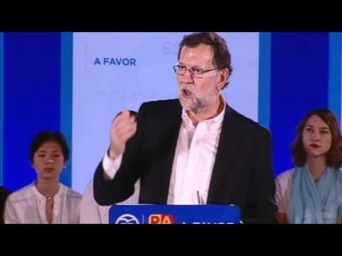 """Rajoy: """"Sería un enorme error subir los impuestos"""""""