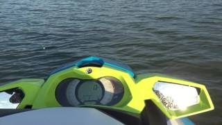 6. SeaDoo 2016 GTI SE 155 Top Speed Run Sport Mode