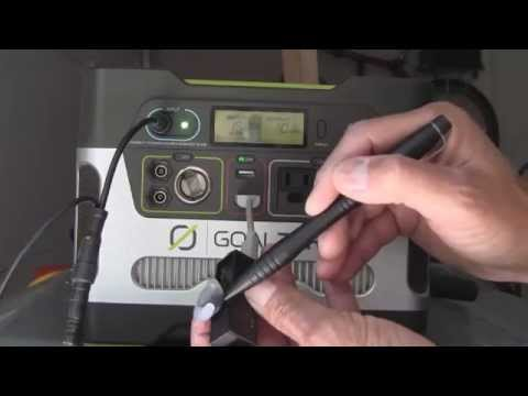GoalZero Yeti400 Solar Generator System: REAL Prepper Power