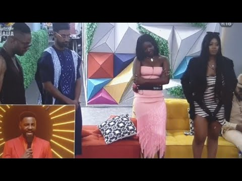 BBNAIJA LIVE EVICTION - WHITEMONEY FACES THE HOT SEAT, YOUSEF & SASKAY EVICTED