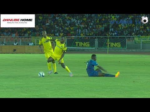 Magoli yote Ya Tambwe Yanga 2 - 0 Singida United