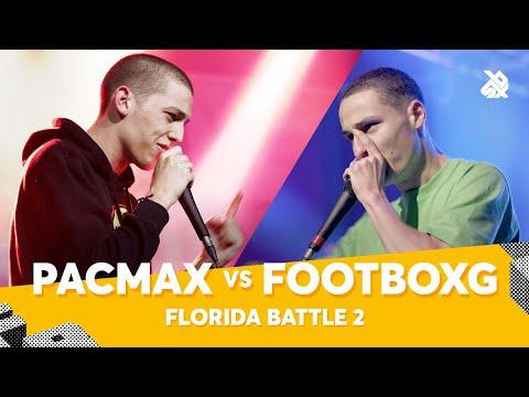 PACMAX vs FOOTBOXG | Florida Beatbox Battle 2020 | Battle 2
